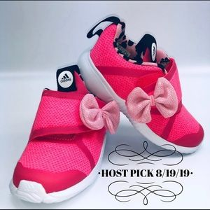 🎉HP🎉Adidas x Minnie Mouse Sneaker- Toddler Girls